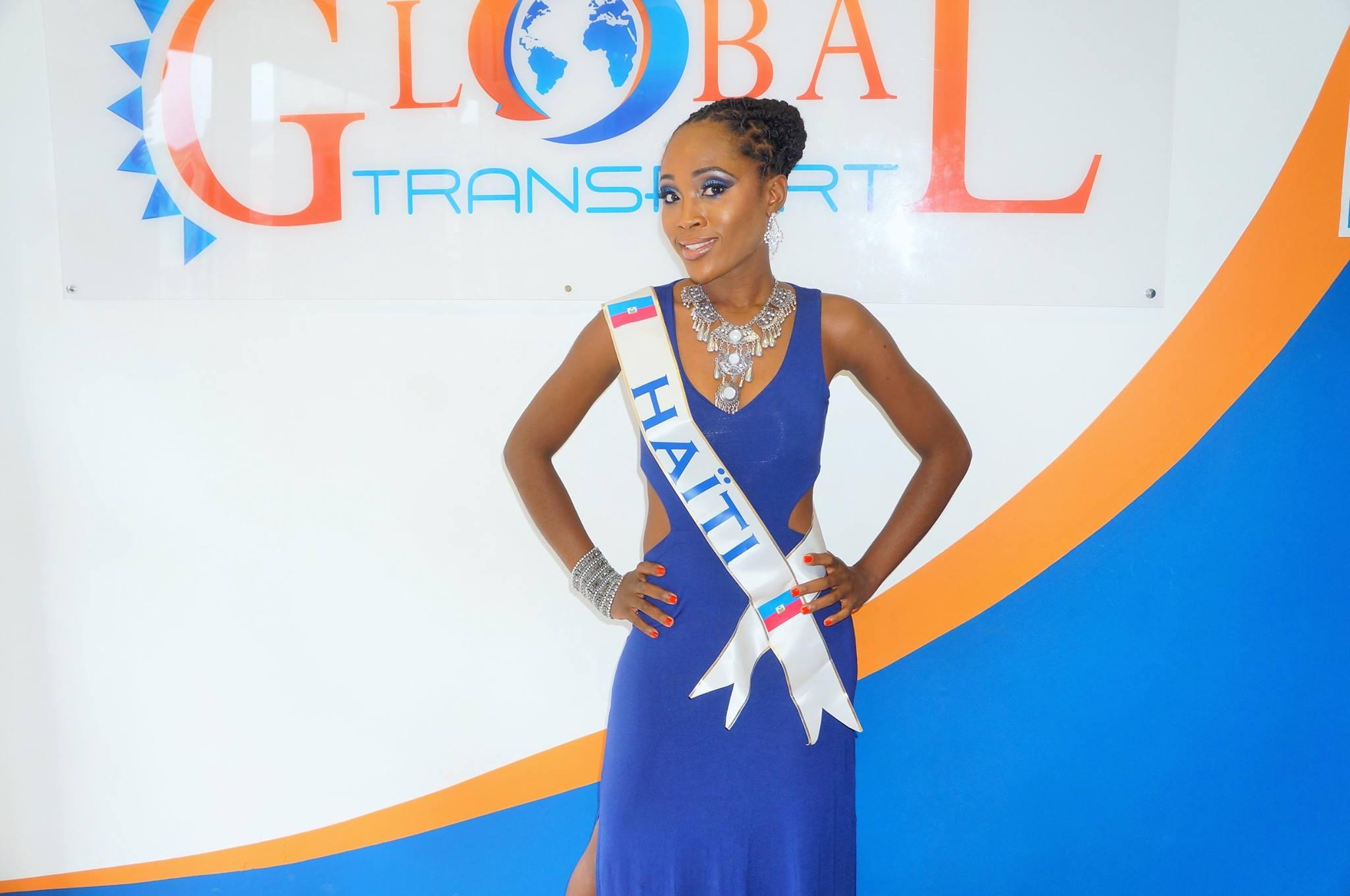 Visite de Miss International Elegeance mother 2016 – Haïti chez Global Transfert Saint-Martin